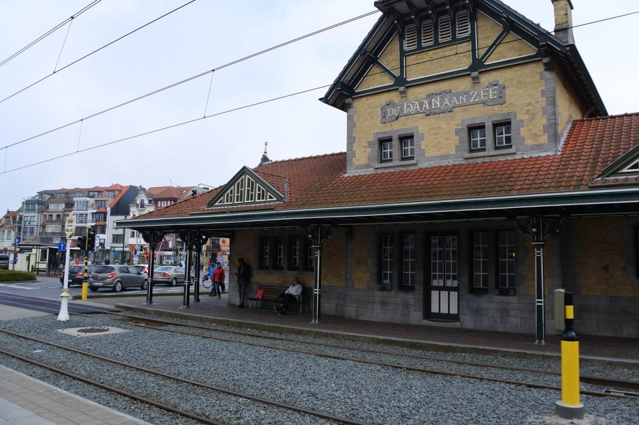 Gare de tram De haan aan zee