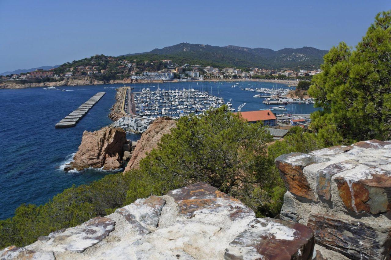 Vue panoramique Sant Feliu de Guixols