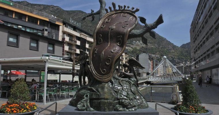 [Andorre 2017] Santa Coloma, Andorre-la-Vieille, Lac d'Engolasters