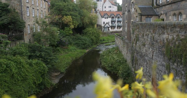 [Écosse] Edimbourg : Dean Village, Greyfriars Kirk, Hollyrood Park