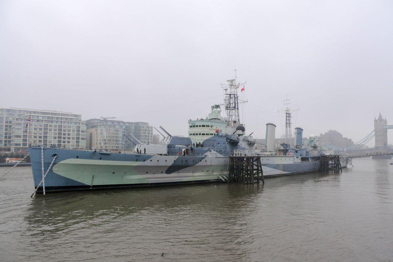 HMS Belfast, Hay's Galleria