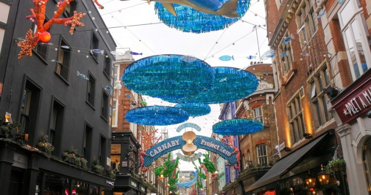 [London 2019] Carnaby Street, Kingly Court, Piccadilly Circus