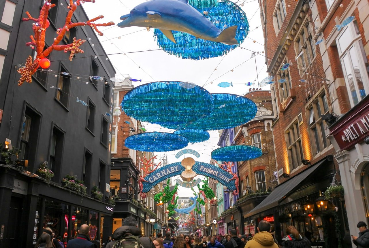 Carnaby Street, shopping carnaby kingly piccadilly