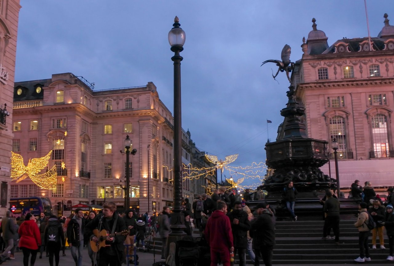 Fontaine de Piccadilly Circus