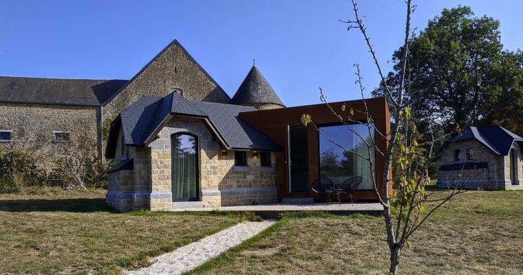 [Maillen] Domaine de Ronchinne: le Village Gaulois, les Faisanderies et le relais de chasse