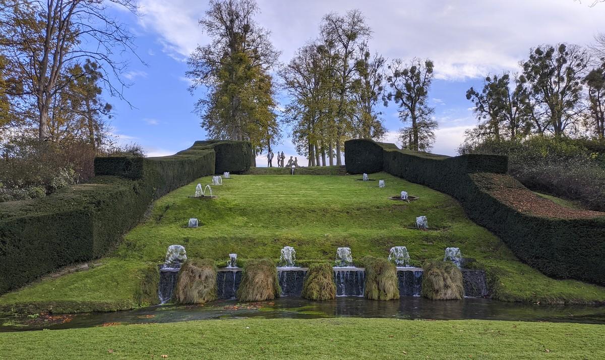 découverte jardins eau Annevoie